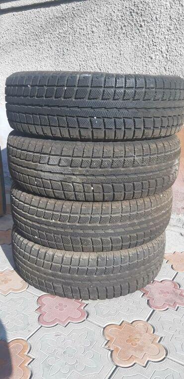 шины 225 70 r16 в Кыргызстан: Продаю комплект зимних колёс R16. Почти новый коплект зимней резины
