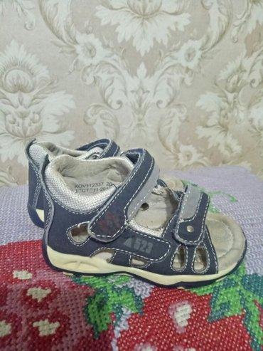 Продаю сандалики на мальчика кожаные в Бишкек