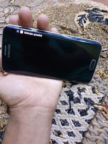 Samsung-galaxy-s6-edge - Азербайджан: Б/у Samsung Galaxy S6 Edge 32 ГБ Синий