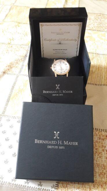 бренды классической мужской одежды в Кыргызстан: Черные Мужские Наручные часы Bering