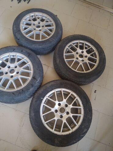 диски на авто bbs в Кыргызстан: Продаю Диски 15 размер Оригинал привозной  Падходит на многое авто  Х