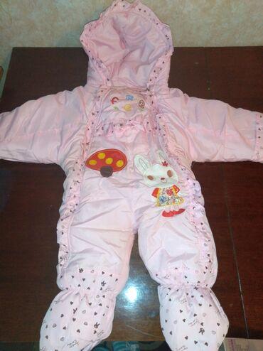 Детский комбинезон размер до 1 года состояние отличное