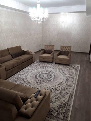 Сдаю 3х комн элитка Рыскулова Тоголок Молдо 4-этаж в Бишкек
