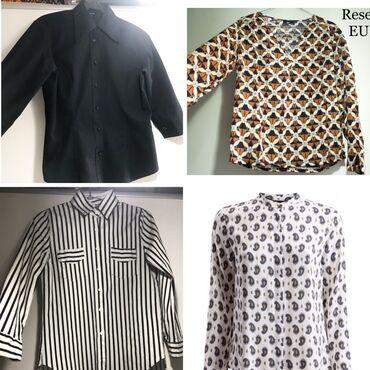 Качественные рубашки!!Чёрная рубашка Vero Moda -100% х/б. Размер S