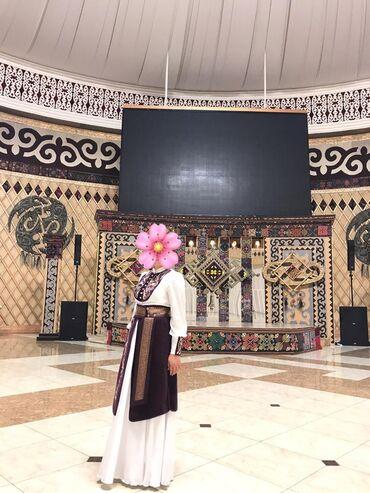 """Свадебные платья и аксессуары - Кыргызстан: Платье """"Кыз узатуу"""". Носили только один раз. Очень красивое хорошее"""