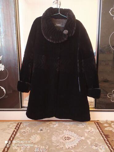 летнее платье 54 размера в Кыргызстан: Шуба мутон одевала один раз, размер 54 цена 3500 сом г.Кара-Балта
