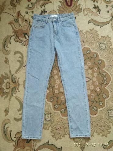 Личные вещи - Бишкек: American apparal джинсы женские одевала пару раз  размер 27