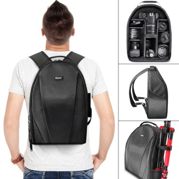 Vivitar Camera Backpack Bag for DSLR and Lens - Padded Case for Canon в Бишкек