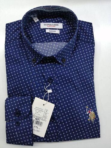 платья рубашки без рукавов в Кыргызстан: U.S POLO рубашка %100 оригинал в Турции. Оптом и в розницу. Роскошное