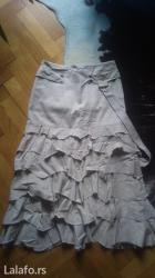 Prodajem dugu bež suknju, jako kvalitetnu, turska proizvodnja, - Kragujevac