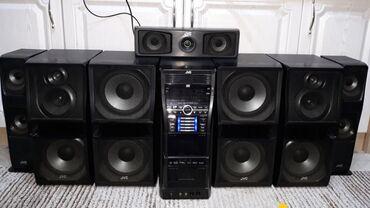 Музыкальный центр  JVC CA-DXU 10  Мощность 1 000 ват