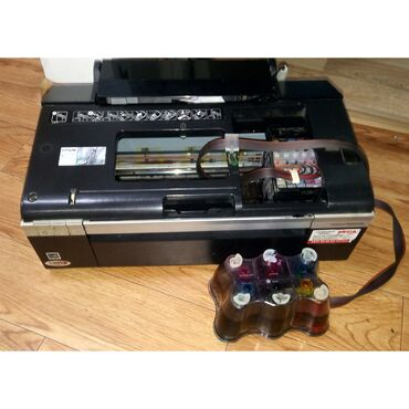 Купить бумагу а4 - Кыргызстан: Цветной принтер Т50 6 цветов, рабочий, бумагу захватывает, донорка в