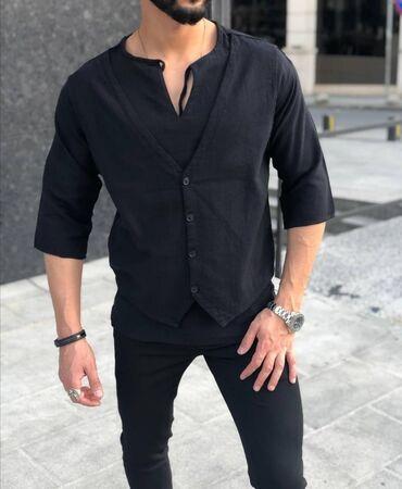 Личные вещи - Кыргызстан: Рубашка+жилет Турция