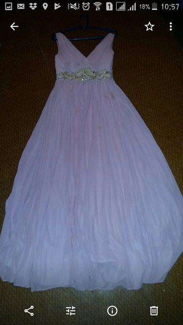 Платье Италия одевали один раз в Бишкек