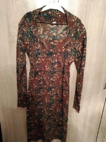 теплое платье большого размера в Кыргызстан: Очень теплое платье,размер L