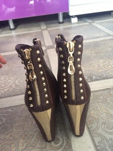 ботильоны-коричневые в Кыргызстан: Качество отличное, покупала в москве. Торг уместен