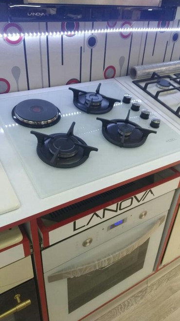 Elektronika Limanda: Qaz plitəsi Ezel,türk malı,ölçü 60 st, mebelici,1 il rəsmi