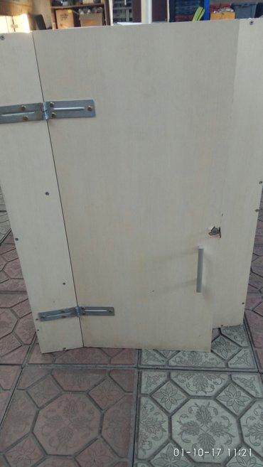 Шкаф длина- 1м*1.20м комплекте 800с, шкафчики2шт по2000с каждый в Бишкек