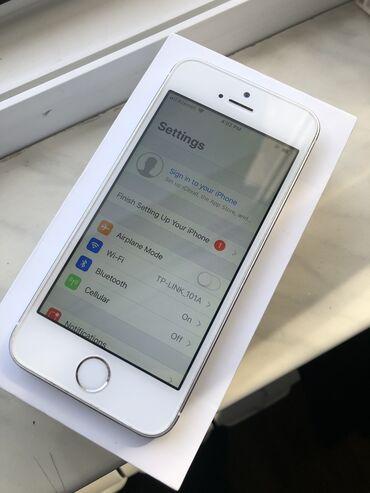 apple-iphone-5s-16gb - Azərbaycan: Apple Iphone 5s 16GB Ustada olmayib. Arxasi acilmayib. Butun