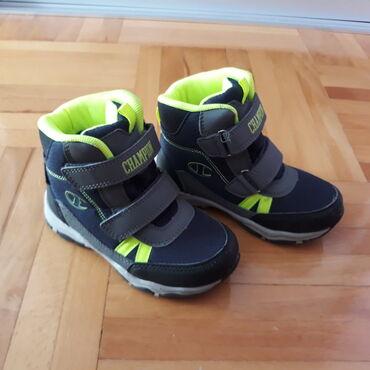Dečije Cipele i Čizme - Nis: Prodajem zimske cipele Champion vel 27, unutrašnje gazište 17cm.Cipele