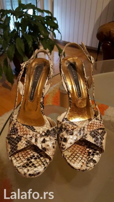 Italijanske sandale, broj 38, bez ostecenja - Loznica