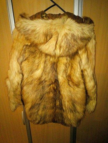 Bunda prirodno krzno, veoma kvalitetno, duga dlaka, sa postavom, nekor - Novi Sad
