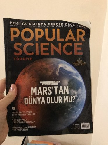 Popular science (turk dilinde) 5 azn