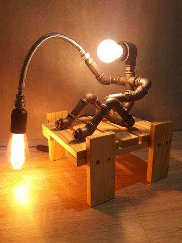 Stona Lampa - Retro Handmade.  Dekorativna i izuzetno neobicna i - Kraljevo