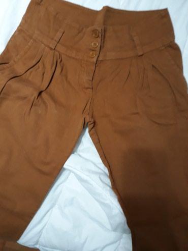 Pantalone sa - Srbija: Zenske pantalone sa elastinom, velicina L