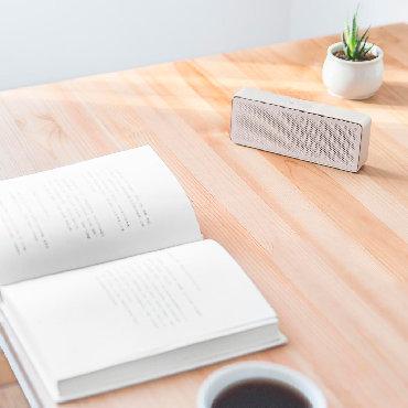 Колонки, гарнитуры и микрофоны - Кыргызстан: Bluetooth колонка портативная Xiaomi Mi Square Box Speaker 2Изящная