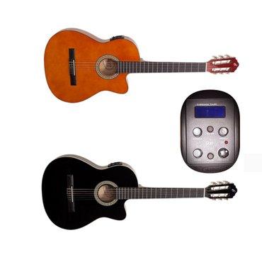Bakı şəhərində Giannini firmasinin Start modelli yeni elektro klassik gitaralari muke