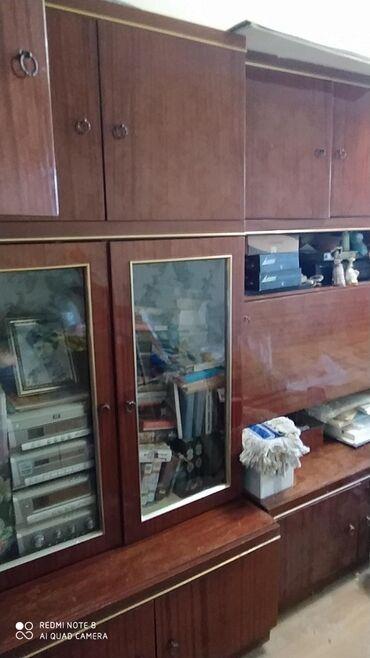 шкафов в Кыргызстан: Продаю мебельную стенку пр-во Германия б/у состоит из 4-х шкафов 8000с