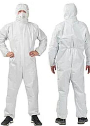 Медицинская одежда - Кыргызстан: Защитные костюмы!с бахиламиПротивочумные костюмы