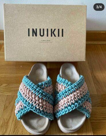 INUIKII papuce nosene par puta placene 160€