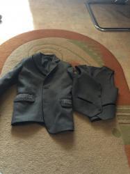 Пиджак школьный - Кыргызстан: Школьные пиджак и жилет, на 9 лет и на 13 лет