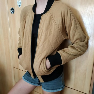 Woman's jacket bershka size small light brown colour σε Βόλος - εικόνες 2