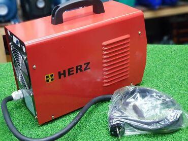 хозяйственные инструменты в Кыргызстан: Инверторный сварочный аппарат HERZ Бренд: Herz Страна- Германия  Тип