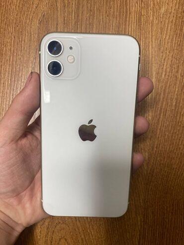 айфон 11 цена в оше in Кыргызстан | APPLE IPHONE: IPhone 11 | 128 ГБ | Белый Б/У | Гарантия
