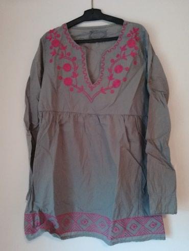 Košulje i bluze | Pozega: Siva tunika(kosulja), ocuvana