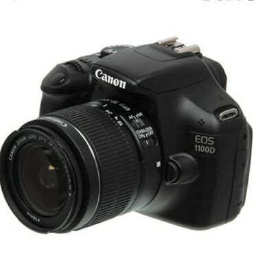 canon-efs-18-135mm в Кыргызстан: Продаётся фотоаппарат canon 1100d с объективом canon 18-55. Полный