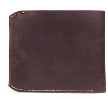 сумка клатч ручной работы в Кыргызстан: Handmade Leather Wallet . Двойной коровьей натуральной кожи короткий