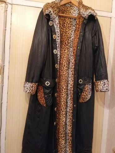 350 elan | PLAŞLAR: Palto stilli plaw ox gözəl modeldi. İsti saxlayır. Az geynilib. Razmer