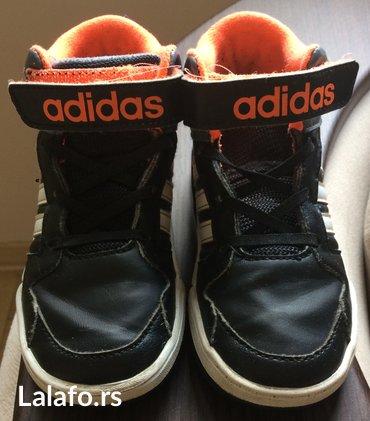 Adidas patike broj 27, gaziste 16 cm. Leva je malo izgrebana sa - Belgrade
