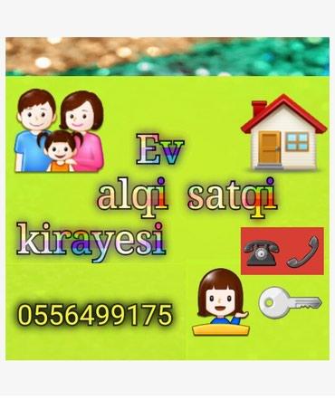 Emlak ev alqi satqi kiraye 510 azn icareye arendaya obyekt satdiq в Bakı