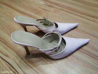 Ženska obuća | Futog: Roze salon papuce br. 38