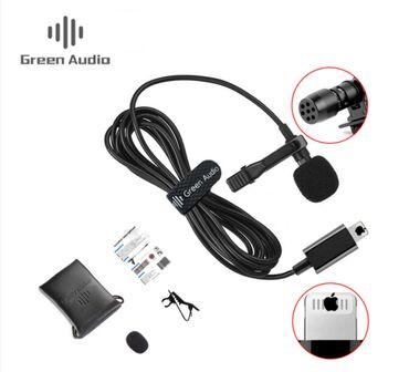 5133 объявлений: Петличный микрофон ( iphonе 6 метров ) green audio gam-140