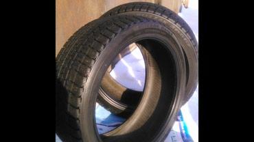Зимняя Резина б/у Bridgestone (липучка) Пара 245/40/18 в Бишкек