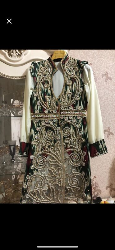 Личные вещи - Кант: Узбекское национальное платье на келин салам!!!размер 48!одевался один