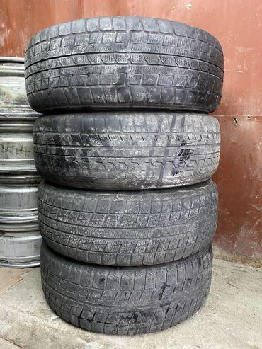 диски r15 цена в Кыргызстан: Шины 215/60/16 зима 10% протектора  цена 2500 за все 4