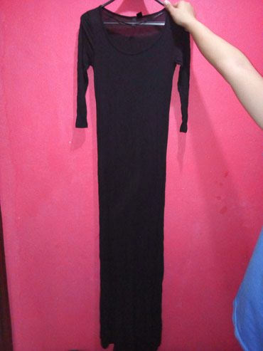 kali collection в Кыргызстан: Продаю платья. черное платье в пол. рукав три четверти. материал хб
